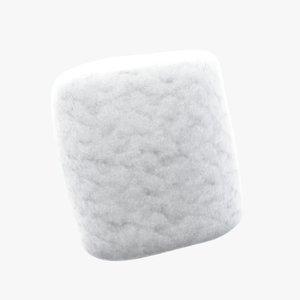 3D medical cotton