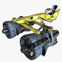 Yellow Pod Racer
