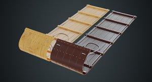 sled 3a 3D model