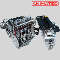 ENGINE ANIMATED