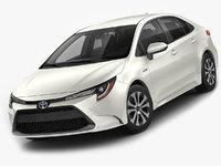 Toyota Corolla Sedan US hybrid 2020