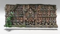 wall carving 2 3D