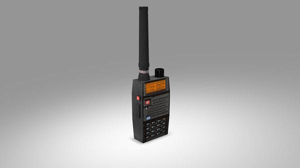 3D model radio communication