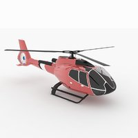 3D helicopter h 130