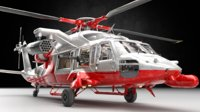 Helicopter Support Heli with Guns