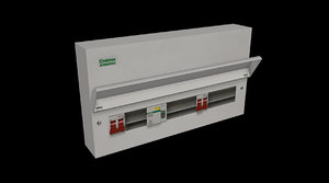 electrical cabinet model