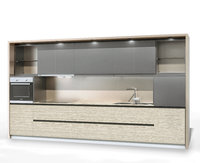 3D kitchen modern modo model