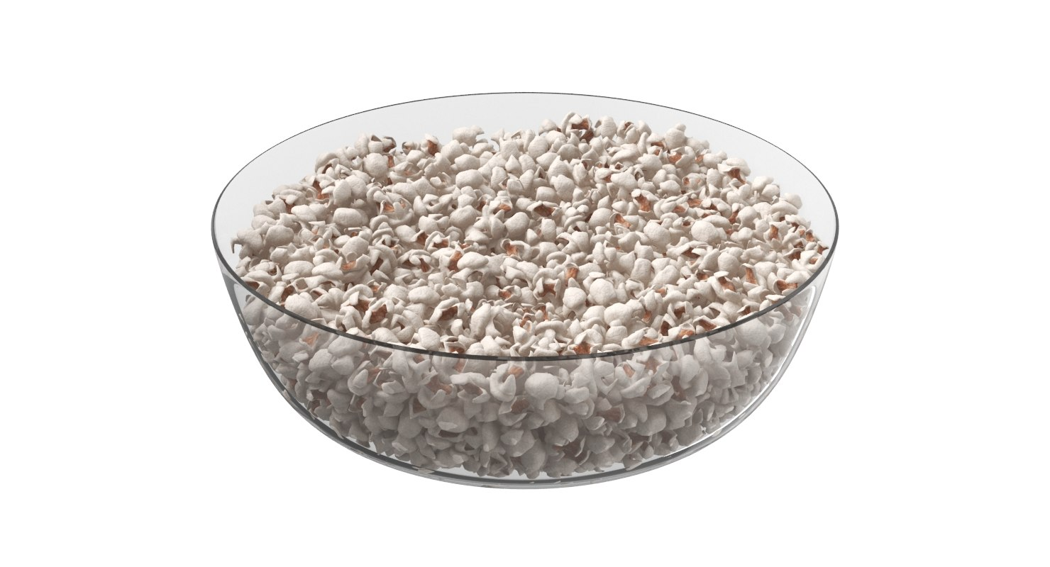 Popcorn Plate