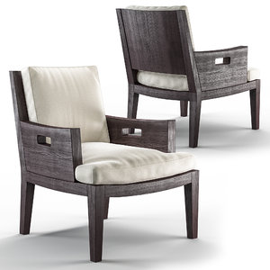 3D model betty armchair