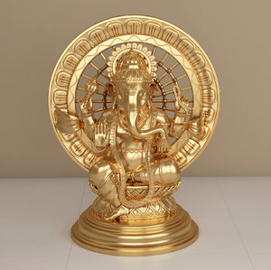 sculpture ganesh model