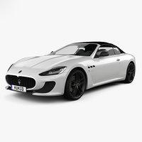 Maserati GranCabrio MC 2013