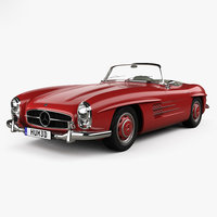 3D mercedes-benz 300 sl
