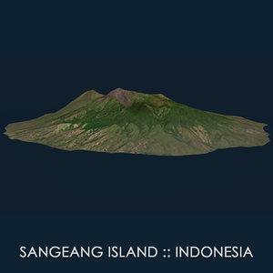 3D sangiang island