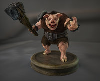 Boar Creature Npc