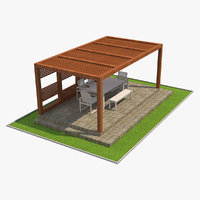 outdoor seating 1 interior model