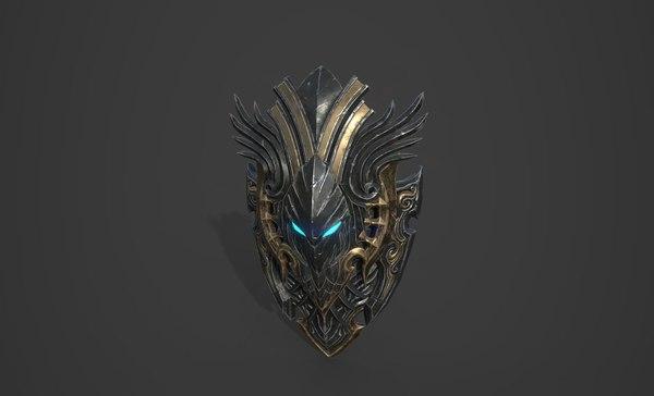 shield targe model01 02 3D