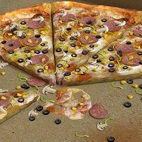 pizzas 3D model
