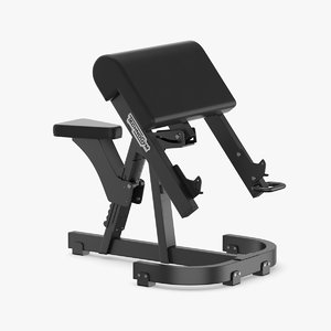 3D model gym fitness weight