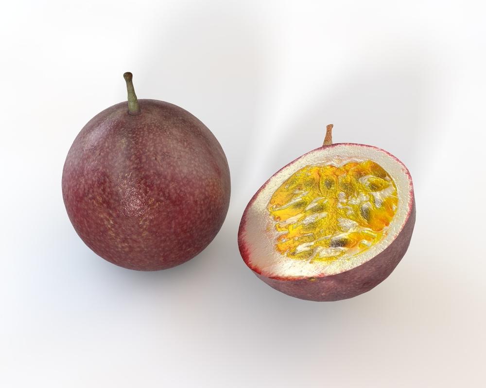 fruit passion 3D model