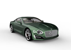 bentley exp 10 speed 3D model
