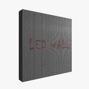 led panel 3D