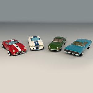 3D car muscle