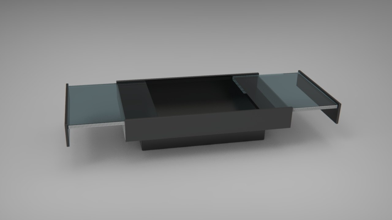 Willy Rizzo Coffee Table.Willy Rizzo Table