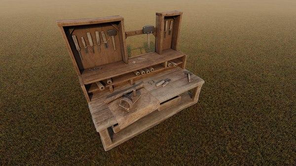 interior armory 3D