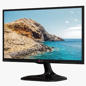 3D realistic monitor lg 22mp65hq-p model