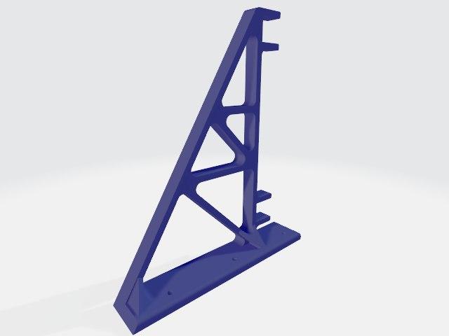 version shelf bracket 3D model