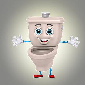 cartoon toilet max
