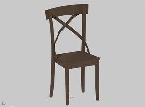3D chair jade