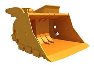 excavator bucket 3D model