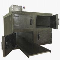 3D morgue refrigerator model