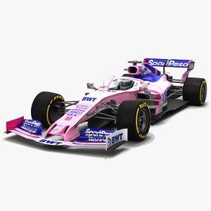 3D sportpesa racing point f1