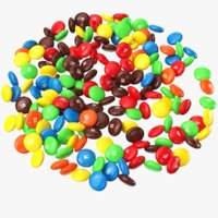 3D model m ms candy