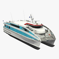 Ferry Catamaran Generic Rigged(1)
