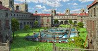 Classic Medieval Monastery