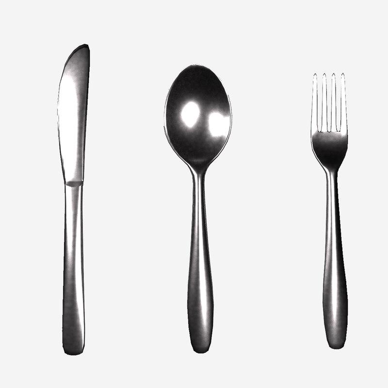 spoon cutlery model