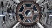 spaceship interior 3D model