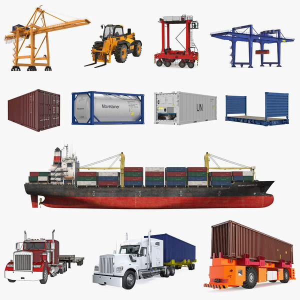 3D equipment containers 2