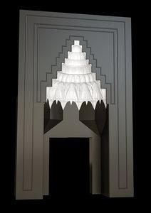 muqarnas 3D model