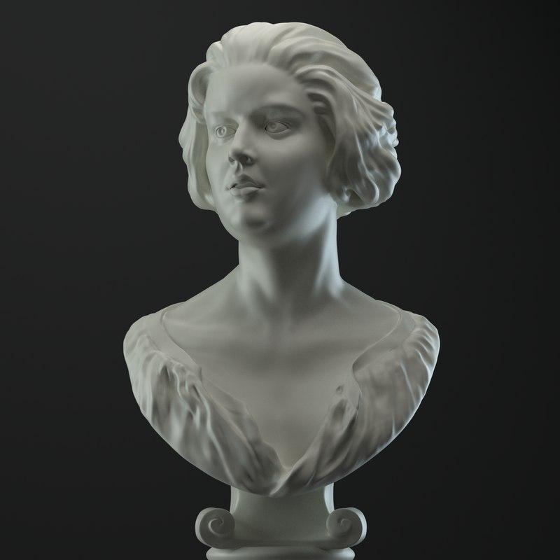 bust sculpt model