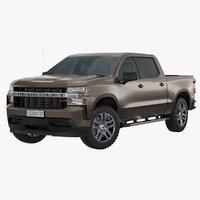 3D chevrolet silverado 2019 custom