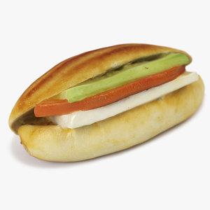 sandwich 01 3D model