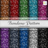 Bandana Pattern Seamless Fabric Textures
