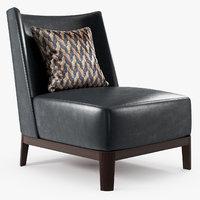 Christian Liaigre - Mandarin lounge chair
