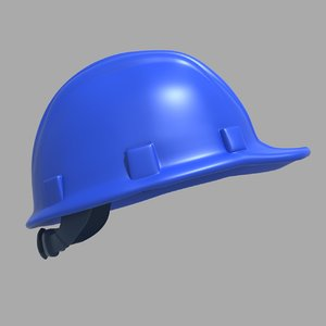 modeled helmet model