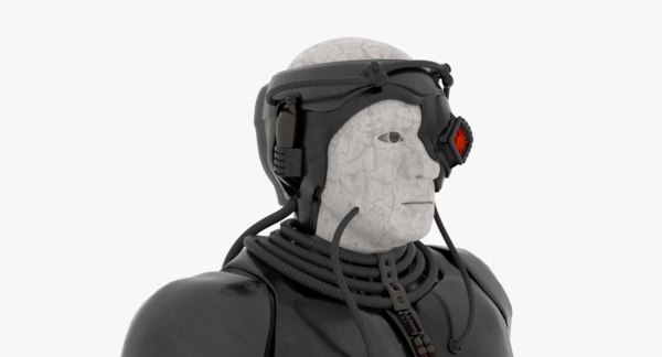 3D borg model
