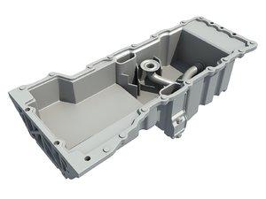 oil pan 3D model